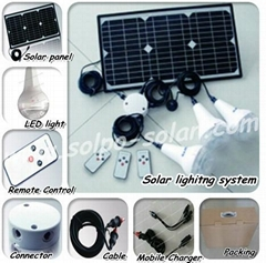 solar lighting system for home use solar power system