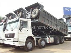 For saleSINOTRUK HOWO 8x4 Dump Truck ZZ3317N3867B 336HP EuroII