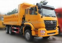 For sale SINOTRUK HOHAN DUMPER TRUCK  6x4 ZZ3255M3846C1 336HP EuroII