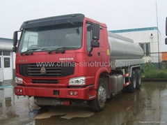CHINA SINOTRUK HOWO OIL TANK TRUCK 6x4 ZZ5307M3247P 336HP  EuroII  hot sale