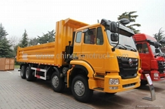 For sale SINOTRUK HOHAN DUMPER TRUCK 8x4 ZZ3315M3866C1   336HP  EuroII