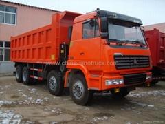 For sale STEYR KING DUMPER TRUCK 8x4 371HP  Euro II