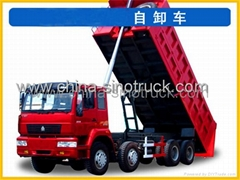 For sale SINOTRUK SWZ TIPPER 8x4
