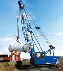For sale CHINA CONSTRUCTION MACHINERY XCMG CRAWLER CRANE 55T ON SALE