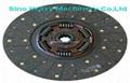 SHMC SINOTRUK truck  PARTS clutch disc