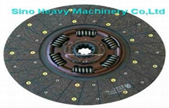 SHMC SINOTRUK truck  PARTS clutch disc