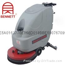 供应电瓶驱动洗地机-Smart510B手推式洗地机