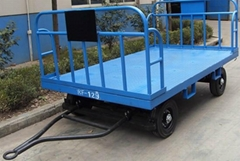 2 Front-Rear Rails Cargo Trailer