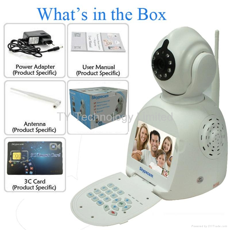 Network Phone Camera NPC Easy to use and carry 2014 Newest  CCTV  high quality  4