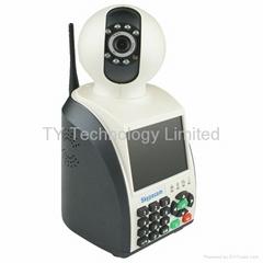 Network Phone Camera NPC vedio network phone Video IP Camera Hot Sales! 2 colour