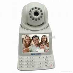Network Phone Camera with 3.5 inch HD