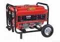 GASOLINE GENERATOR PB2500 with wheels and handle