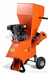 Wood Chipper powered by 7HP gasoline engine,EPA approved