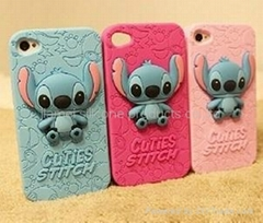 New design silicone cellphone cover,phone case for IPhone 4