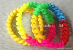 Hot promotional gifts silicone bracelet,silicone wristband