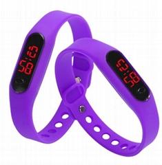 Digital watch sport silicone watches candy wrist watch