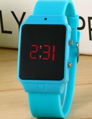 Digital watch electronic silicone watches candy wrist watch