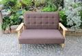 复古风木沙发