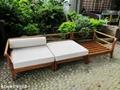 度假風木沙發椅(台灣製)