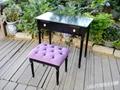 安娜苏风化妆桌椅