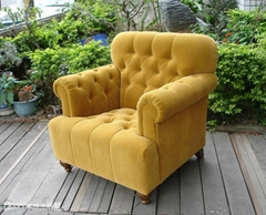 乡村风布沙发