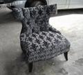 低调奢华古典单人沙发