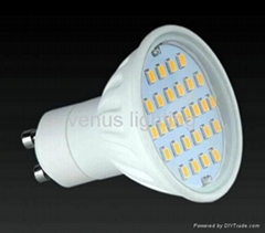 LED lights for interior use GU10 spot light 5.5W