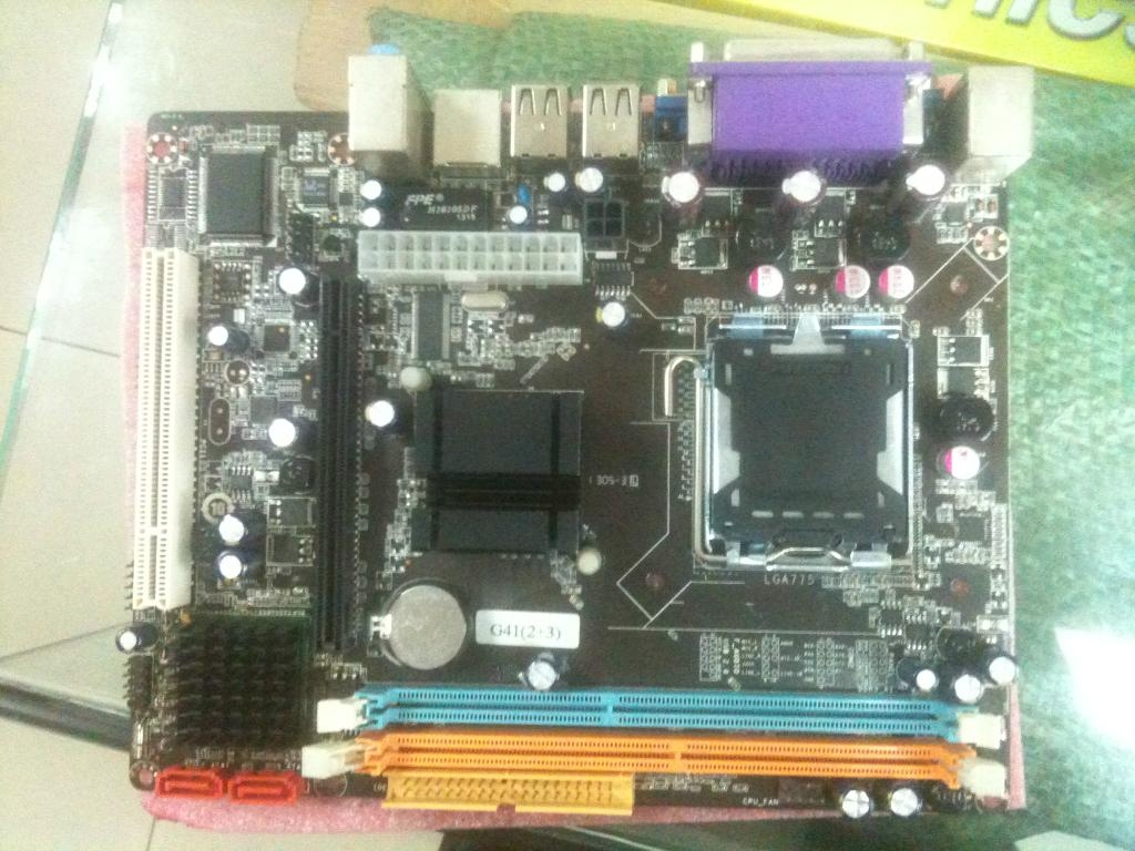 ddr2 ddr3 intel motherboard G41 COMBO Support DDR2+DDR3 1