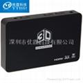 優霆科技3D轉換器 3D DLP投影儀轉換器 2D轉3D DLP投影儀視頻處理器  5