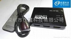 hdmi switcher 3x1 3 port hdmi switcher