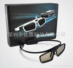 3d shutter glasses, 3d DLP projector eyewear, 120 KHZ / 120 KHZ