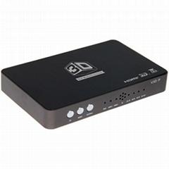 2D to 3D video converter 120Hz 3D HDTV DLP projector converter