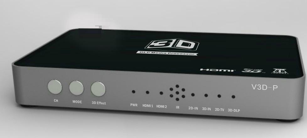 2D轉3D轉換器120HZ,3D投影DLP轉換器,3D片源轉換器 7