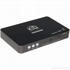 3D HD Video Converter support 2D to 3D 3D HDTV and DLP projector