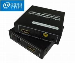 HDMI音頻分離器,HDMI轉光纖同軸,解碼器