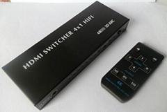 1.4V HDMI switcher HiFi  support 4K2K resolution 1080P/3D ARC