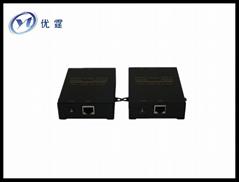 HDMI延长器 60米单网线放大器 RJ45 HDMI信号延长器 1080P无损信号传输