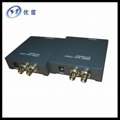 HDMI extender RG6 U BNC Coax Cable Extender Sender Receiver  100M
