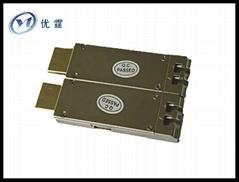 HDMI光端機,HDMI光纖延長器300M,LC口 1.4版,3D 4Kx2k