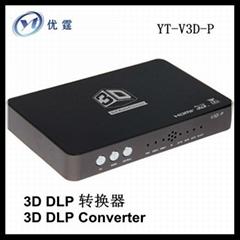 3d converter 3d DLP projector converters 2d to 3d DLP projector video processor