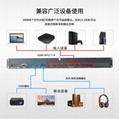 HDMI切換器八進二出帶音頻分離RS232 2