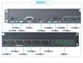 HDMI切換器八進二出帶音頻分離RS232 4