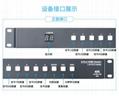 HDMI切換器八進二出帶音頻分離RS232 5