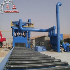 H section shot blasting machine