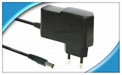 插墙式认证齐全5V3A电源适配器