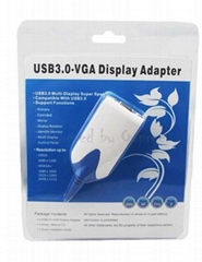 OPR-UV300 USB3.0轉VGA 多屏外置顯示卡