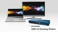 OPR-DS300 Docking Station (多媒體端口複製器)