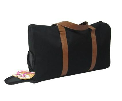 sport gym bag with shoe compartment