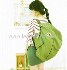 Hot Korean Nylon Folding Shopping Bags Novelty Design Travel Bag Outdoor Bags Ba