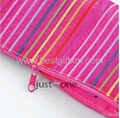 Colorful Lines Nylon Cosmetic Makeup Travel Wash Bag 4